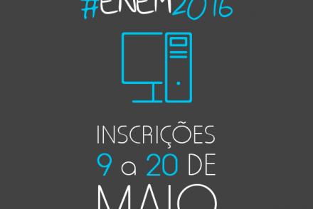 ENEM 2016 Inscrições Enem 2016